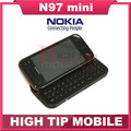 Nokia Unlocked Original N97 Mini Mobile Phone Camera 5MP Storage 8GB GPS WIFI Bluetooth Refurbished free shipping