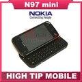 Original abierto de Nokia N97 Mini teléfono móvil cámara de 5MP de almacenamiento 8 GB GPS WIFI Bluetooth reformado envío gratis