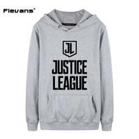 Flevans Fashion DC Comics Pullover Sweatshirts 2017 Justice League Men Hoodies Brand Casual Autumn Winter Male