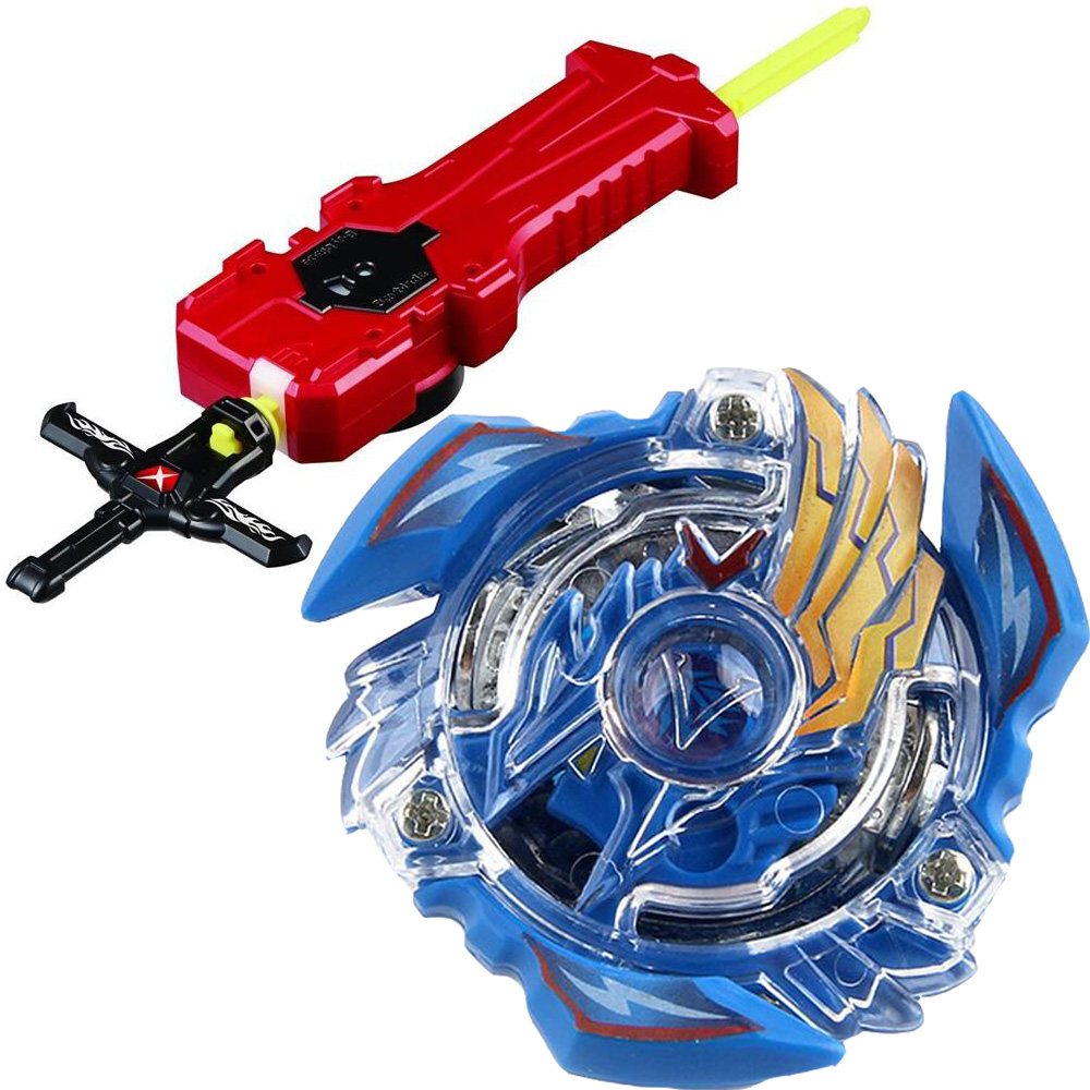 Victory Valkyrie / Valtryek Burst Spinning Top Starter Set w/ Launcher B-34 With Sword Launcher Factory Supply(China)