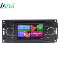 LJDA Wholesale 1din 6 2 Inch Car DVD Player Wince 6 0 Systerm For Fiat GRANDE