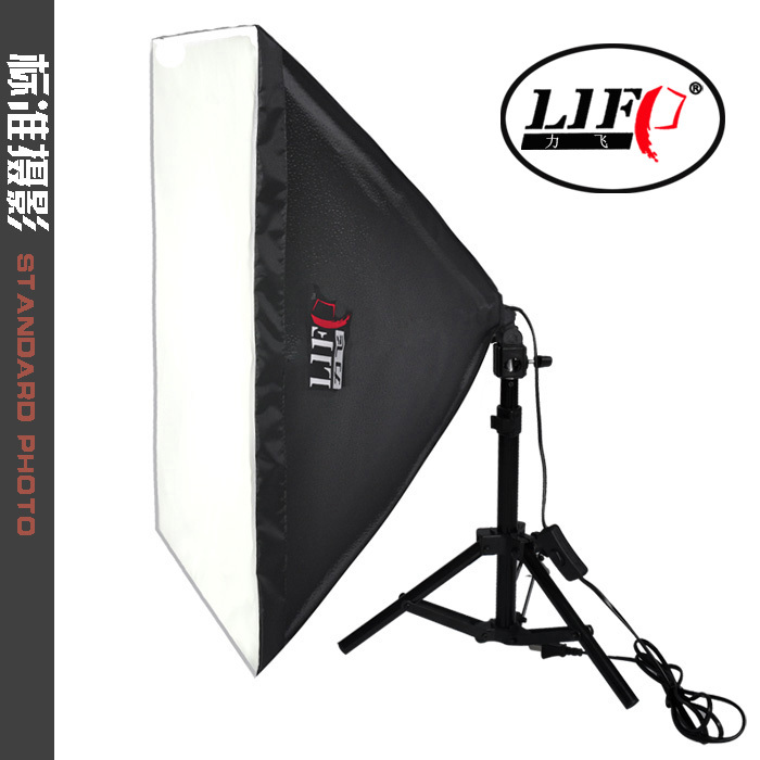 Photo Studio Continuous Lighting Kit Softbox Standard 40X40cm single lamp softbox photography light photographic equipment CD50 ashanks photographic equipment 5 e27 socket lamp holder with 60x90cm softbox photo studio light tent box kit continuous lighting