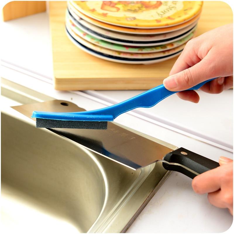 Portable kitchen Knife Sharpener Kitchen Tools Accessories Creative Kitchen Handheld Knife Sharpener High Quality Grindstone in Sharpeners from Home Garden