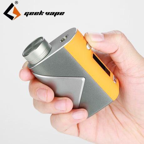 Original 80 W Geekvape lucide Mod Vape boîte Mod lucide 80 W Mod avec contrôle de température avancé comme puce E-Cigarette Lumi réservoir vapeur