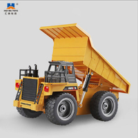 HUINA Loader HUINA 1540 RC Dump Truck 1/18 2.4G 6CH Alloy Version 360 Degree Rotation Construction Engineering Vehicle Toy Gift
