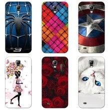 3486a40f5bd Cubierta de la caja Para Samsung Galaxy S4/Mini/S4Mini GT-I9190 i9195 i9192  colorido Para suave TPU fundas celular casos de telé.