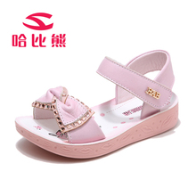 Summer Girls Sandals Bowknot Fashion Children Shoes Rhinestone Princess Dress Shoes Girls Party Designer Toddler sandals