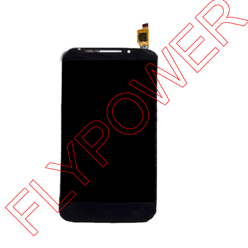 ФОТО For Alcatel POP S7 OT7045 7045Y 7045 LCD Display Screen with Touch Screen Digitizer Black By Free Shiipping