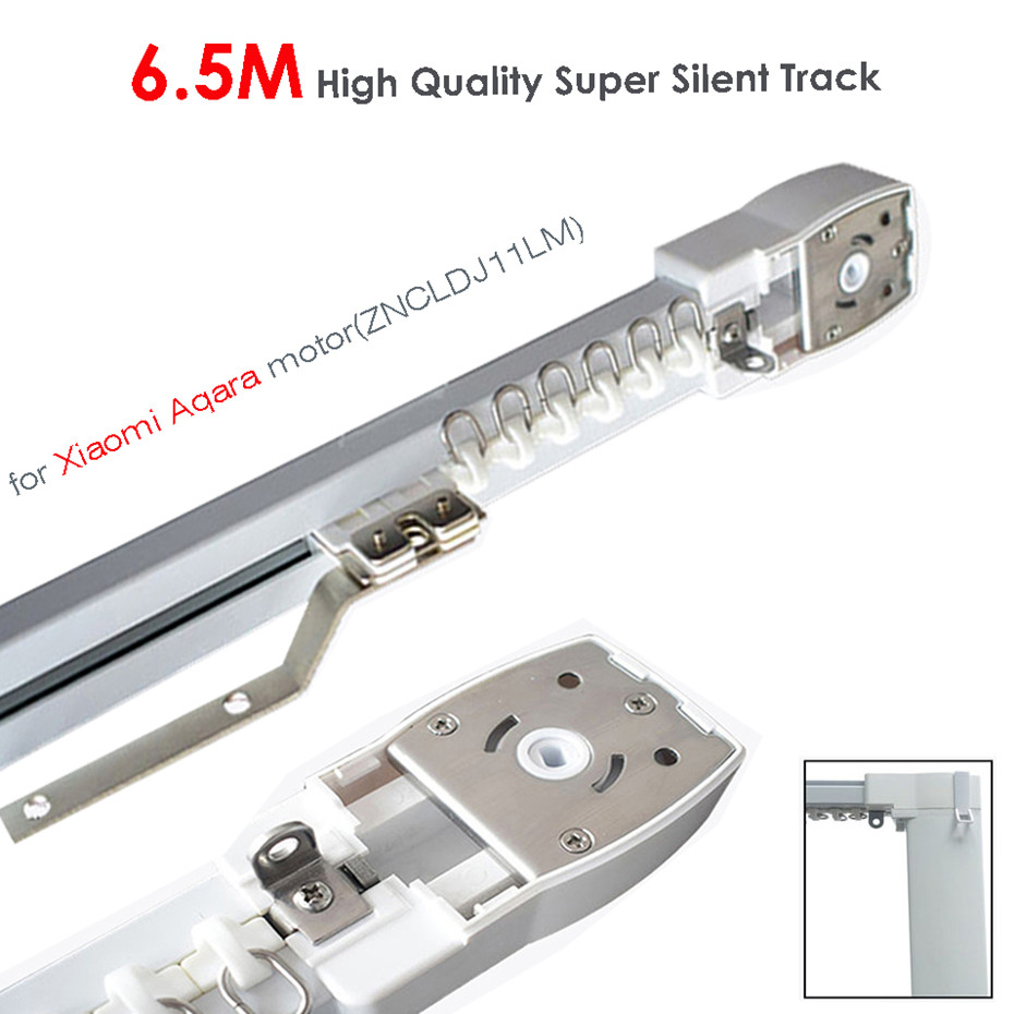 6.5M Or Less High Quality Track For Xiaomi Aqara Motor,Zigbee Wifi Curtain System,MI HOME App Smart Remote Control Silent Rail