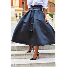 c66dacd72 Compra taffeta black skirt y disfruta del envío gratuito en ...