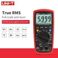 UNIT UT139E High Precision Digital Multimeter True RMS Auto Range NCV Temperature Capacitance 6000 Count Frequency LPF UT139S