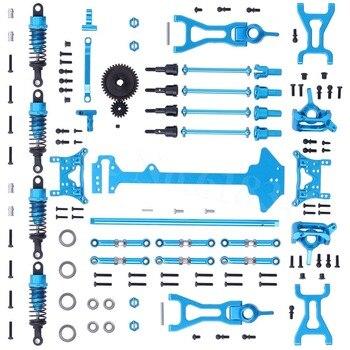 1 set Completo di Parti di Aggiornamento Kit Per Le parti Wltoys A959 Vortex 1/18 2.4g 4WD Elettrico RC Auto Off Road Buggy pezzo di Ricambio