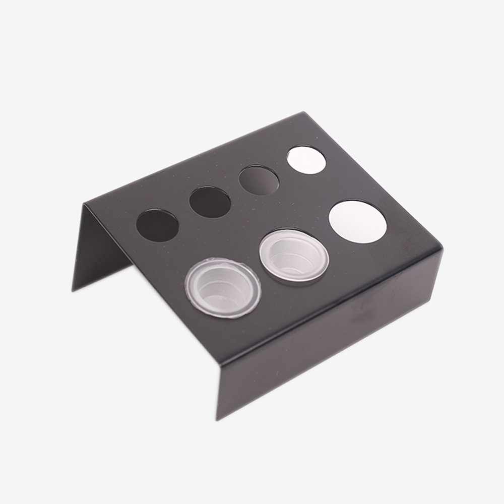 Image 5 - 6/7/8/23 Holes Tattoo Ink Cup Holder Stand Makeup Accessories Random Color Trailer Supplies Tatoo Tool Pigment Brack Container-in Tattoo accesories from Beauty & Health