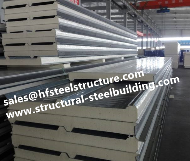 PU Insulation Sandwich Cold Room Panels For Cold Storages And Walk In Cold Room Store Fruit