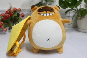 Gugure Kokkuri-san Tanuki ducha Shigaraki Cosplay maskotki zabawki Anime pluszowe i nadziewane lalki z kreskówek tanie i dobre opinie Kostiumy Dla dorosłych others