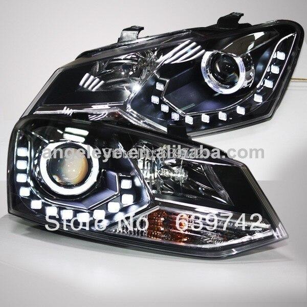 VW Xaç Polo LED Projektor Lensli 2011-2013 il LD ilə - Avtomobil işıqları - Fotoqrafiya 1