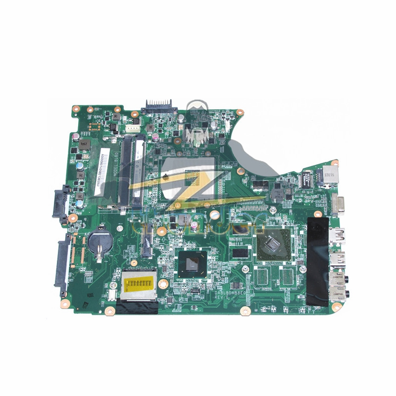 A000080140 DABLBDMB8E0 REV E for toshiba satellite L750 laptop motherboard HM65 GPU N12M-GE-B-B1 DDR3