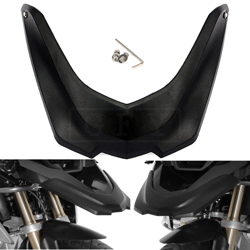 For BMW R1200GS LC 2013 2014 2015 2016 R1200 GS Motorcycle Front Fender Beak Extension Extender Wheel Cover Cowl