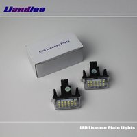 Liandlee For Toyota Verso Sportsvan EZ E'Z 2009~2014 LED Car License Plate Light / Number Frame Lamp / High Quality LED Lights