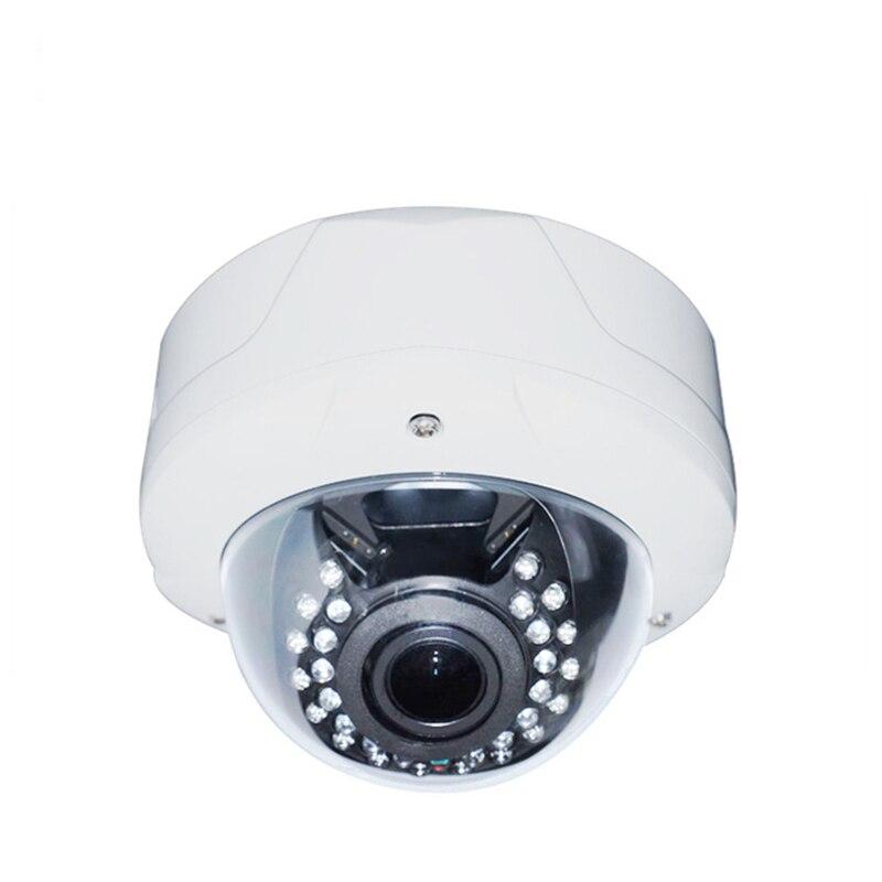 SSICON 4MP Manual Varifocal AHD Outdoor Camera 30Pcs IR Leds Fashion White Housing Analog Camera 1