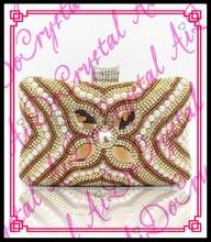Aidocrystal mode neuesten zarte edle strass kristall dame party perle kupplungen braut gelb gold hochzeit handtaschen