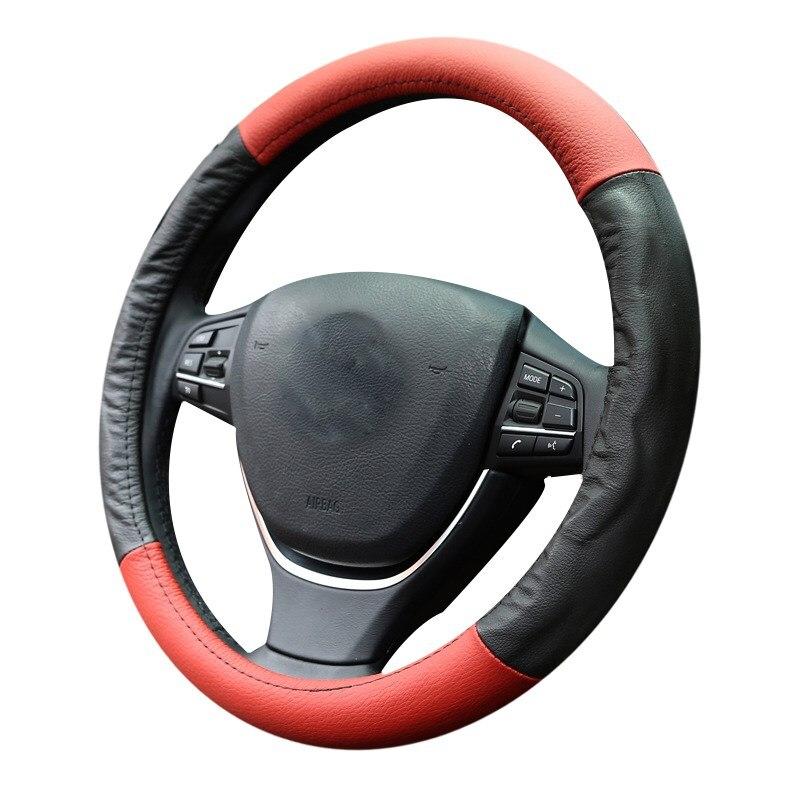For Kia For TOUAREG Handlebar Braid For Honda For SAIL Car Soft For PRADO Steering Wheel Cover 38cm / 15inch SC120