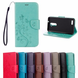 For ZTE Z981 Case,New butterfly flower flip case for For ZTE ZMax Pro Z981 6.0'' PU leather wallet phone back cover Conque