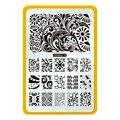 CICI y SISI Plantilla Del Clavo Del Arte Del Clavo Placa de Metal Placa de la Imagen Stamping DIY Impresión De Manicura Herramienta de la Serie 13