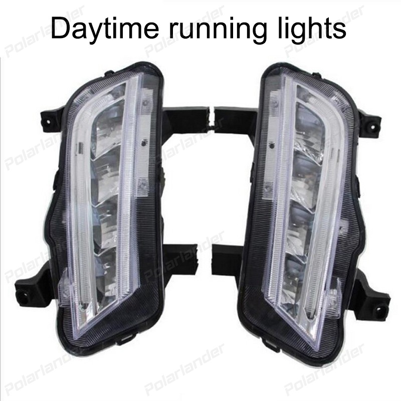 Daytime running lights For C/hevrolet C/ruze 2015 car styling 2017 new arrival auto lamps auto parts 2 pcs for c hevrolet c ruze light guide 2009 2013 daytime running lights car styling