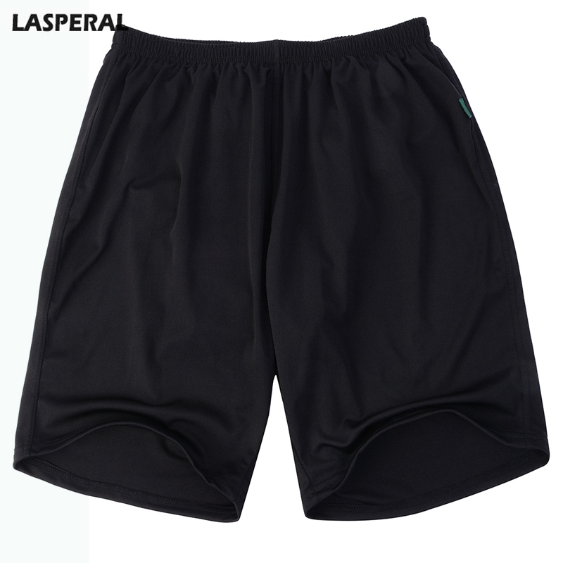 LASPERAL Mens Short Casual Solid Loose Male Summer Shorts Casual Summer Shorts Plus Size Bottoms Fashion Breathable Shorts