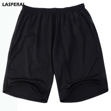 LASPERAL Men's Short Casual Solid Loose Male Summer Shorts Casual Summer Shorts Plus Size Bottoms Fashion Breathable Shorts(China)