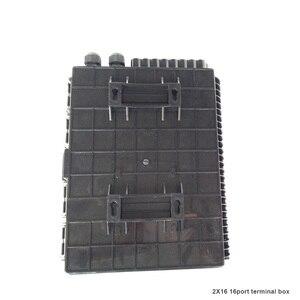 Image 3 - 16 النواة الألياف البصرية إنهاء مربع 16 ميناء صندوق توزيع الألياف البصرية 2X16 النواة FTTX الألياف البصرية مربع الفاصل مربع الأسود