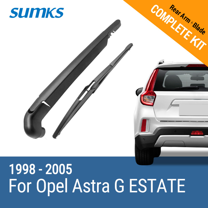 SUMKS Rear Wiper & Arm for Opel Astra G ESTATE 1998 1999 2000 2001 2002 2003 2004 2005