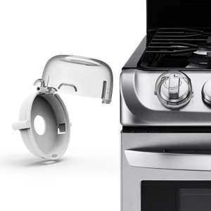 Protective-Cover-Locks Gas-Stove-Switch Oven Proof 2pcs Child Cooker Knob-Sleeve Safety-Care