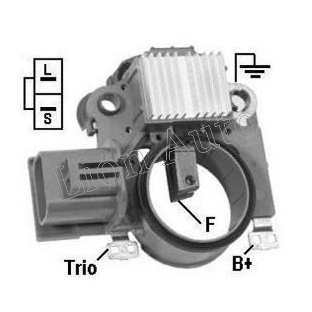 León regulador de voltaje Mitsubishi a866x24472 a866x24972 a866x25572 Im847