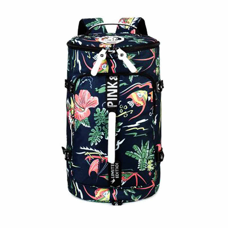 women sports bag Gym Bag Outdoor Sport Backpack Girl New Style Printing  Fitness Crossbody Bag Women a75c398ff77d8