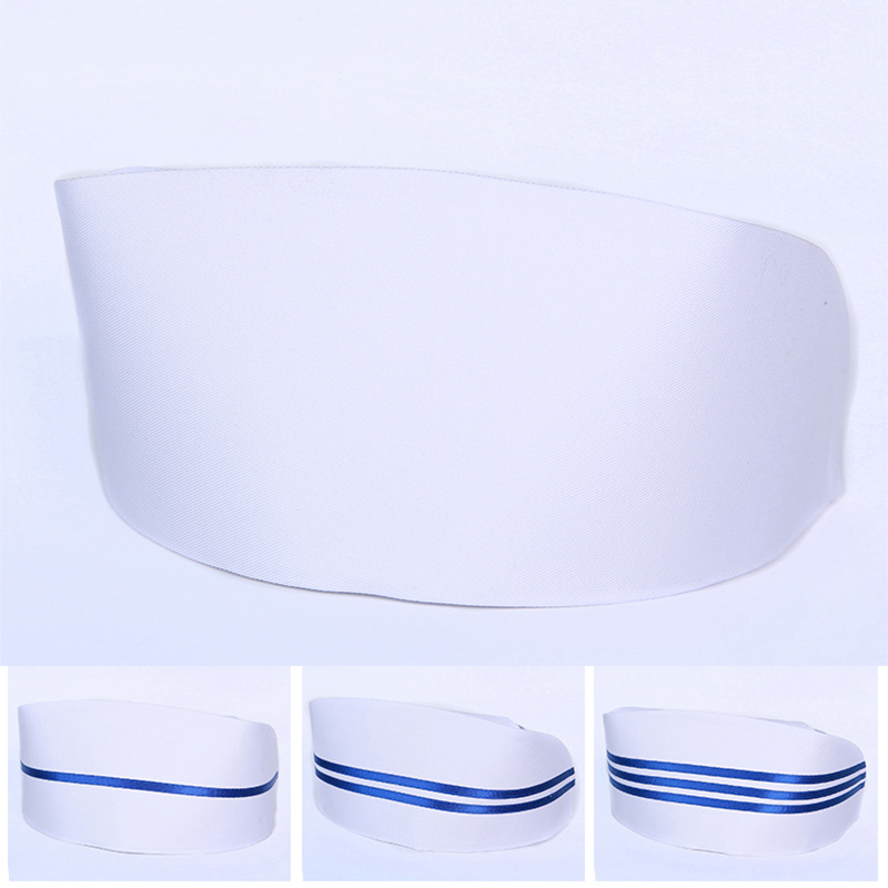 Traditional White Nurse Hats Classic Medical Cap Shape Nursing Button Cap 3D Hard Stylish Working Doctor Nurse's Hats N001