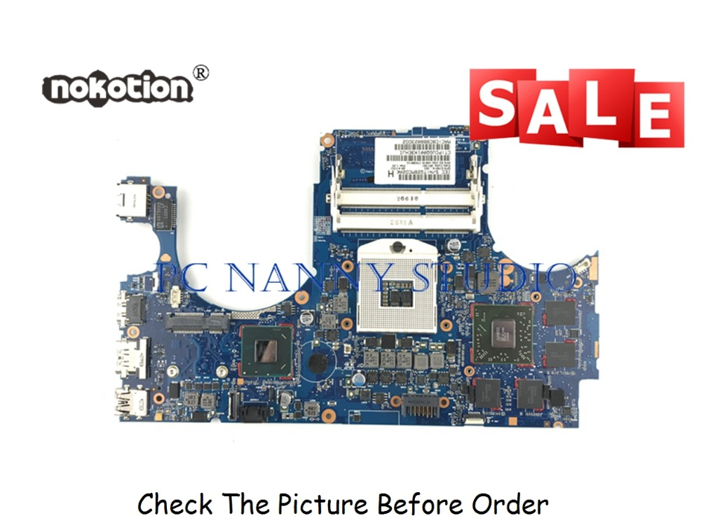 PANANNY 679814-001 FOR  HP ENVY15-3000 Laptop Motherboard 6050A2489301-MB-A02 HM76 DDR3 tested