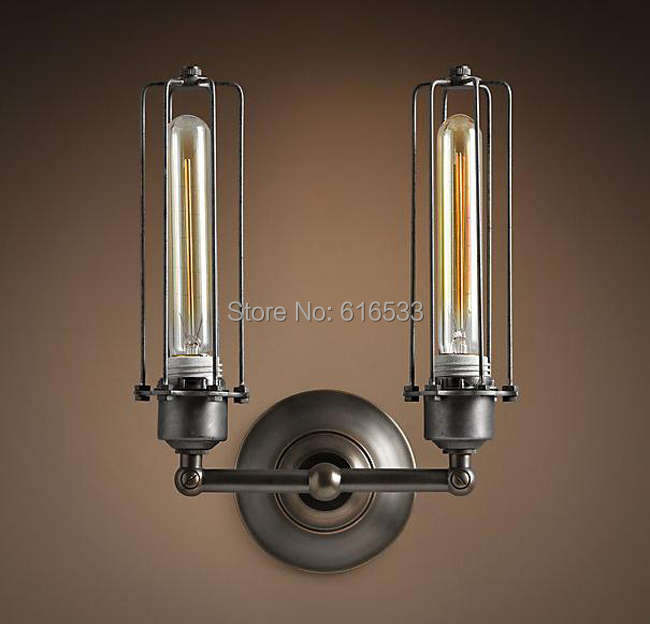 Vintage Wall Lamp Decoration Bar Table Mirror Stair Ofhead Personalized Lamp Edison Bulb B8035