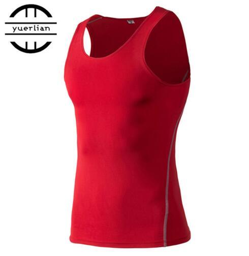2019 yuerlian/спортивные PRO Для мужчин Training плотный жилет баскетбол Фитнес Running быстросохнущая жилет одежда
