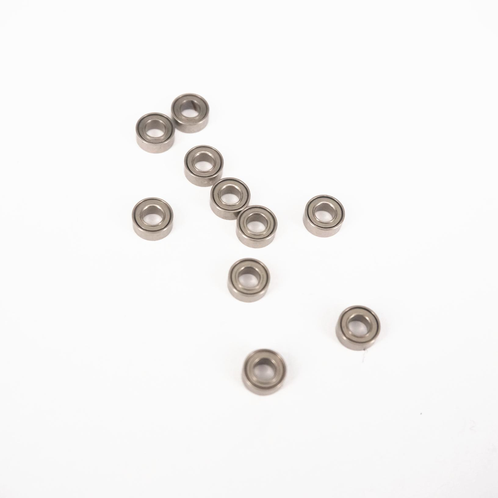 (10)MR63ZZ <font><b>3x6x2.5mm</b></font> P6 ABEC3 Deep Groove Ball Miniature <font><b>Bearing</b></font> Gcr15 image