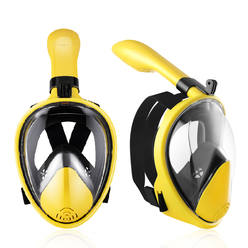 2019 New Underwater Scuba Anti Fog Full Face Diving Mask Snorkeling Set Respiratory Masks Safe Swim Mask