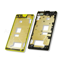 Hot sale Original New Front Frame Housing for Sony Xperia Z1 Compact Z1 Mini D5503 M51w LCD Frame Plate Free Shipping