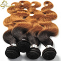 Ombre Malaysian Hair Wet n Wavy Human Hair Bundles 1B/27,30 Two Tone Malaysian Virgin Ombre Hair Body Wave Grace Hair Products