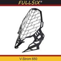Motorcycle accessories modification Headlight Grille Guard Cover Protector for suzuki v-strom 650 vstrom 650 2017-2019
