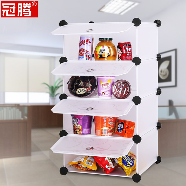 Guanteng Office Kitchen Table Snack Rack Shelf Storage Rack Shelf Snack  Cabinet Shelving Cabinets