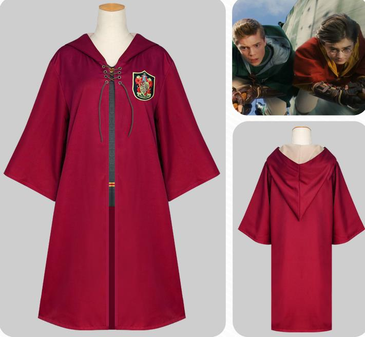 2017NEW E Dobby Harri Potter Costume manteau magique cosplay gryffondor serpentard costume de balle magique quidditch