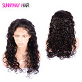 Natural Curly Brazilian Virgin Hair Full Lace Human Hair Wigs Natural Hairline Lace Front Human Hair Wigs With Baby Hair