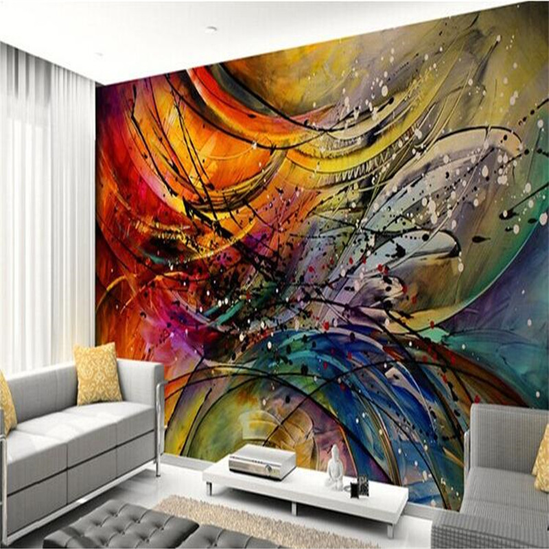 Cool Wallpapers For A Room: Beibehang Custom 3d Photo Wallpaper Cool Living Room Sofa