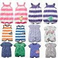 Bebê recém-nascido roupas de verão meninos roupas uma peça romper macacão macacão de bebê roupas de bebê menina